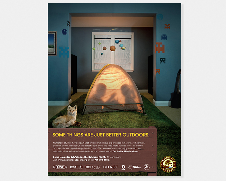 inside the outdoors_ads_tent
